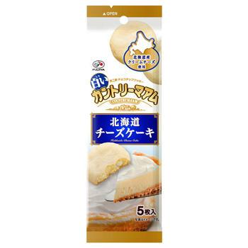 5枚白いカントリーマアム(北海道チーズケーキ)