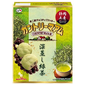 【静岡限定】16枚カントリーマアム(深蒸し緑茶)