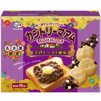 【名古屋限定】16枚カントリーマアム (小倉トースト風味)