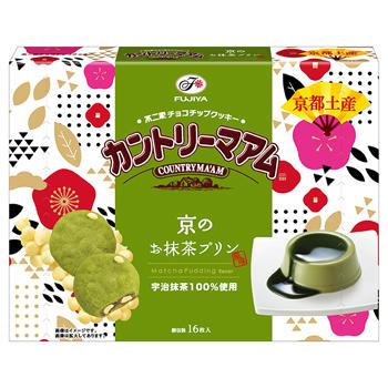 【京都土産】16枚カントリーマアム(京のお抹茶プリン風味)