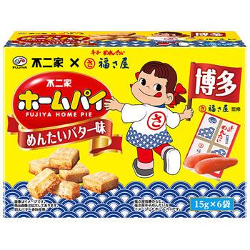 【九州限定】90gホームパイ(めんたいバター味)