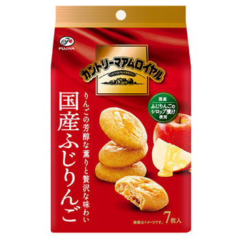 7枚カントリーマアムロイヤル(国産ふじりんご)