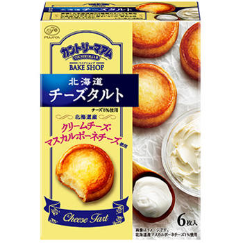 6枚カントリーマアムベイクショップ(北海道チーズタルト)