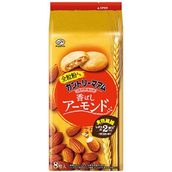 8枚カントリーマアム香ばしアーモンド(おいしくプラス)