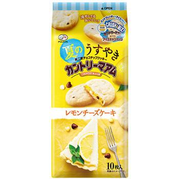 10枚夏のうすやきカントリーマアム(レモンチーズケーキ)