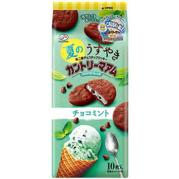 10枚夏のうすやきカントリーマアム(チョコミント)