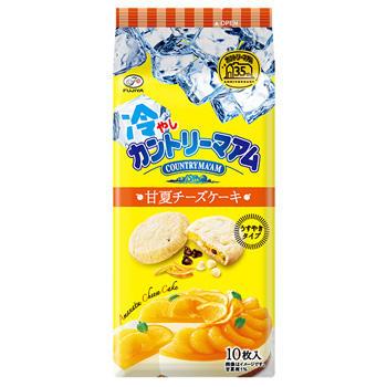 10枚冷やしカントリーマアム(甘夏チーズケーキ)