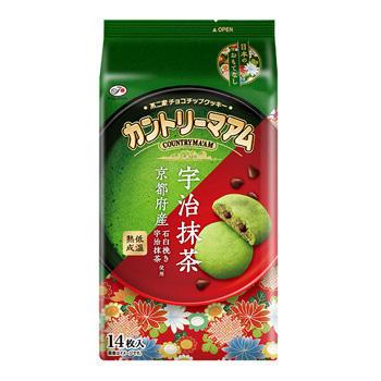 14枚カントリーマアム(宇治抹茶)