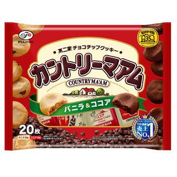 20枚カントリーマアム(バニラ&ココア)