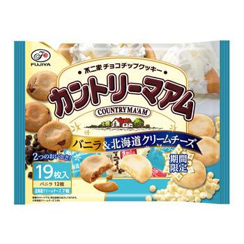 19枚カントリーマアム(バニラ&北海道クリームチーズ)