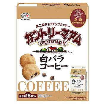 【鳥取土産】16枚カントリーマアム(白バラコーヒー)