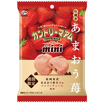 47gカントリーマアムミニ(旬摘みあまおう苺)