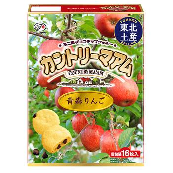 【東北土産】16枚カントリーマアム(青森りんご)
