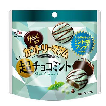60gWithチョコカントリーマアム(超チョコミント)パウチ