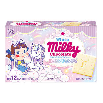 60gホワイトミルキーチョコレート(コットンキャンディ)