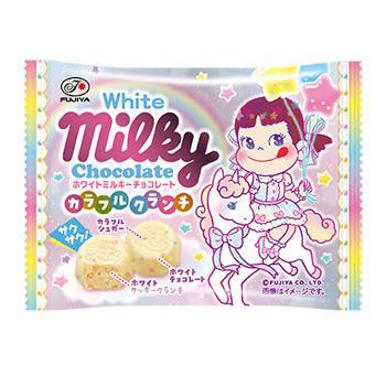 35gホワイトミルキーチョコレート(カラフルクランチ)MP