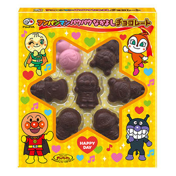 54gアンパンマンパクパクなかよしチョコレート