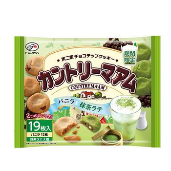 19枚カントリーマアム(バニラ&抹茶ラテ)