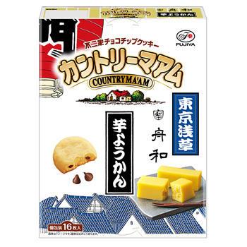 【東京土産】16枚カントリーマアム(舟和芋ようかん)