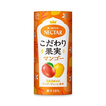 ネクターこだわり果実 マンゴー(195gカートカン)