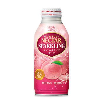 ネクタースパークリングピーチ(380mlボトル缶)