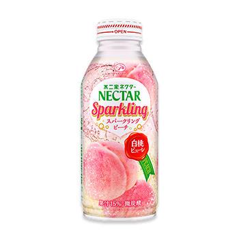 ネクタースパークリング ピーチ(380mlボトル缶)
