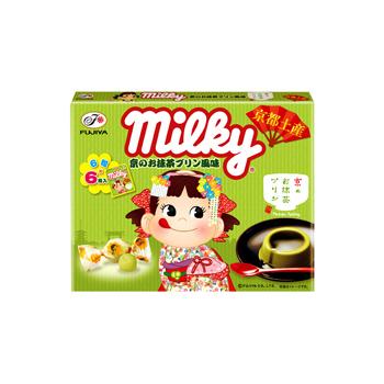 【関西限定】ミルキー(京のお抹茶プリン風味)