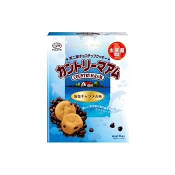 【水族館限定】16枚カントリーマアム(海塩キャラメル)