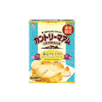 【東京限定】16枚カントリーマアム(東京プレミアムカマンベールチーズケーキ)