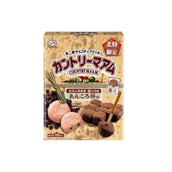 【北陸限定】16枚カントリーマアム(あんころ餅味)