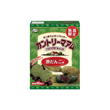 【新潟限定】16枚カントリーマアム(笹だんご味)